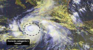 """Por huracán """"John"""", prevén tormentas en Jalisco, Colima y Michoacán"""