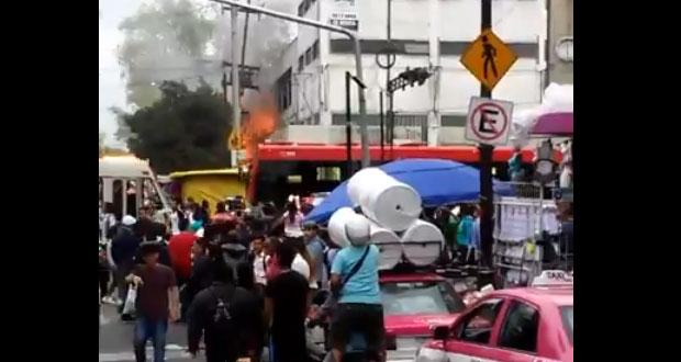 Incendio en La Merced, CDMX, cobra la vida de 2 menores y un adulto