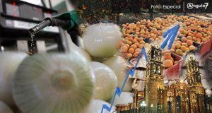 En julio, Puebla con inflación anual del 4.37% la 4ª más elevada