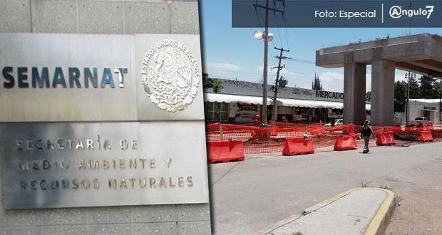Ingresan a Semarnat paso elevado Xonacatepec, obra retrasada y mal planeada