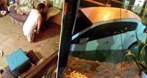 Lluvia inunda casas de 20 familias en Izúcar; pierden patrimonio