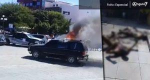 """Turba quema vivos a dos """"robachicos"""" en Acatlán"""