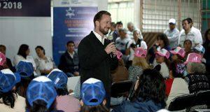 Ayuntamiento entrega obras en tres juntas auxiliares de Puebla