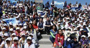 En 5o campamento Neneuki, miles de infantes hicieron deporte y arte