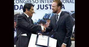 Banck participa en ponencia sobre sistema penal acusatorio