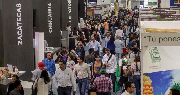 Más de 75 mil personas visitan la Food Show en México; venden 1 mmd