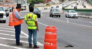 Reportan nuevo hundimiento en el Paso Express de Cuernavaca