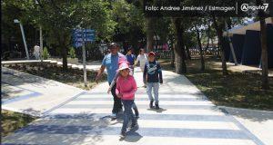Parque Juárez continúa abierto; se cerró sólo para retirar mobiliario: Banck