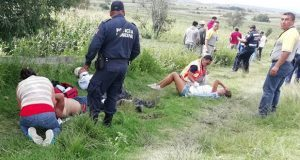 Desplome de avioneta en Juan C. Bonilla deja tres jóvenes heridos