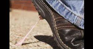 Buscan limpiar el chicle pegado en calles de la Ciudad de México