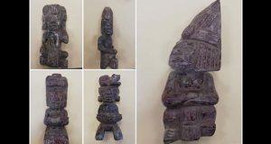 SSP y PF detienen a 3 en posesión ilegal de 21 piezas arqueológicas