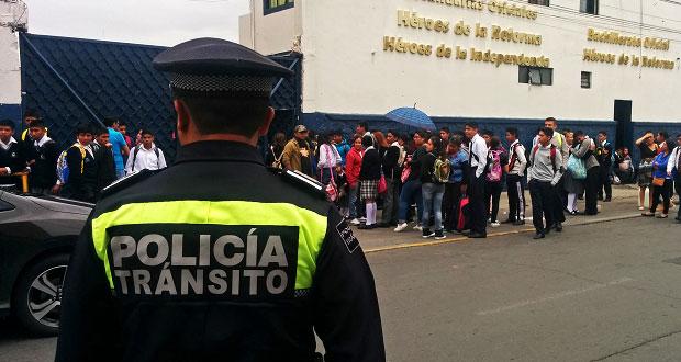 Operativo regreso a clases inicia 20 de agosto con 1,500 policías