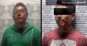 Detienen a dos con 3 kilos de posible marihuana en el Parque Juárez