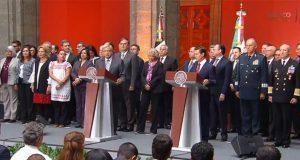 Ante EPN, AMLO reitera anular reforma educativa y consulta del NAIM