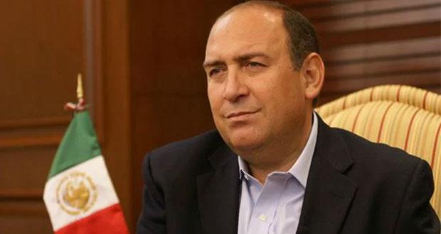 A un mes de asumir, Rubén Moreira deja secretaría general del PRI
