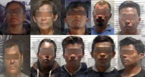 Recuperan vehículos y detienen a 16 por diversos delitos en Puebla