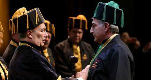 Antonio Gali recibe investidura de Doctorado Honoris Causa