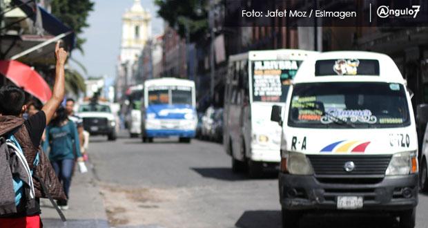 Sin éxito, programa de modernización de transporte público en Puebla