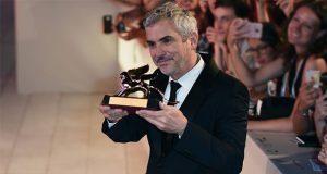 """Por película """"Roma"""", Cuarón gana León de Oro en festival de Venecia"""