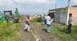 Inicia 2ª etapa de drenaje gestionado por Antorcha en Totimehuacán