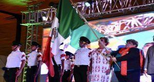 Conmemora Antorcha 208 aniversario de la Independencia