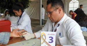 Aplican 1,307 pruebas rápidas de VIH a estudiantes de la BUAP