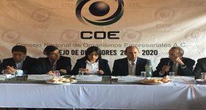 COE propone a Claudia Rivera terna para Secretaría de Desarrollo Económico