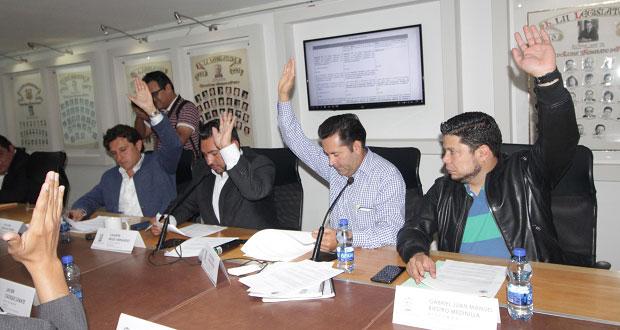 Avanza reforma para que Comunas designen a ediles sustitutos