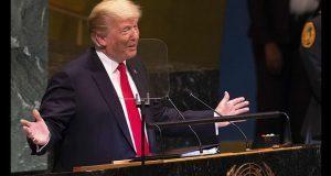 Trump provoca risas en jefes de Estado durante discurso en la ONU