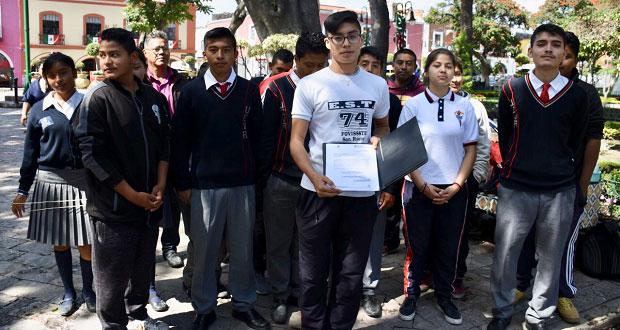 Ayuntamiento de Atlixco niega apoyo a estudiantes, acusan