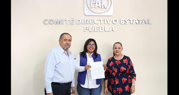 Genoveva Huerta irá en fórmula con Escobedo para dirigir el PAN