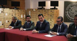 TSJ entrega computadoras a jueces de Atlixco, Cholula y la capital