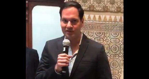 Líder de PVEM desdeña que edil electo de Nopalucan fuera robatrenes