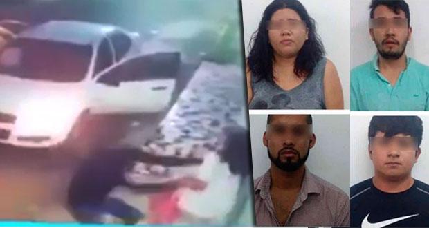 Localizan a joven secuestrada en Veracruz y detienen a cuatro