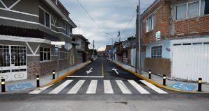 Luis Banck entrega nueva vialidad en colonia Loma Linda