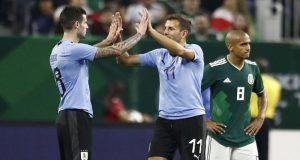 Con doblete de Luis Suárez, Uruguay vapulea 4-1 a México