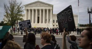 Mujeres protestan en la capital estadounidense ¿por qué?