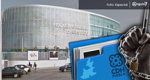 CDH de Puebla recibe 17 quejas de reporteros; FGE de las que más tiene