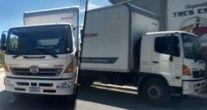 SSP recupera 2 camiones y una moto con reporte de robo en Puebla