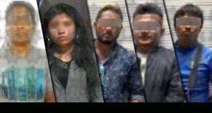 SSP detiene por distintos delitos a 10 personas en Puebla