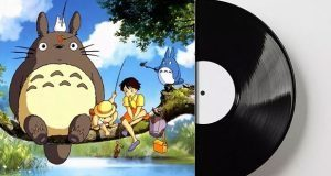 Soundtracks de tres filmes de Studio Ghibli en un vinilo