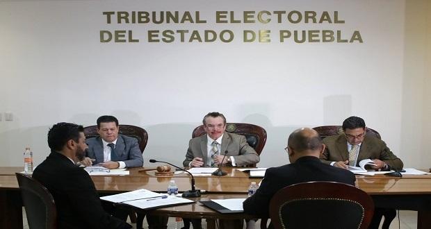 TEEP ratifica triunfo de Céspedes por alcaldía de Tepeaca