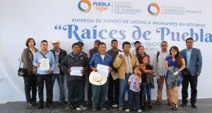 Comuna de Tepexi gestiona apoyo para que migrantes abran negocios