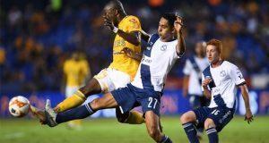 Tigres golea a Club Puebla y lo elimina de la Copa MX