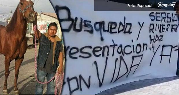 Sigue desaparecido Sergio Rivera, pero ya hay 3 personas detenidas: FGE