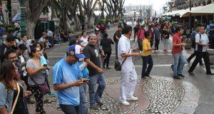 """Concluye """"Ándale"""" con 87% más peatones en CH de Puebla: Comuna"""