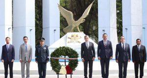 Conmemoran aniversario 171 de gesta de Niños Héroes de Chapultepec