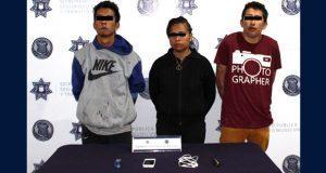 Detienen a 3 probables asaltantes de ruta Cree Madero en Las Palmas