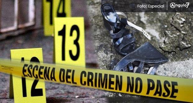 En 8 meses, van 51 homicidios de mujeres en Puebla, 32.9% menos que en 2017