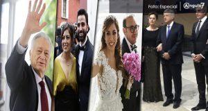 AMLO viene a Puebla a boda de su exvocero; llegan Gali, Bartlett y morenistas